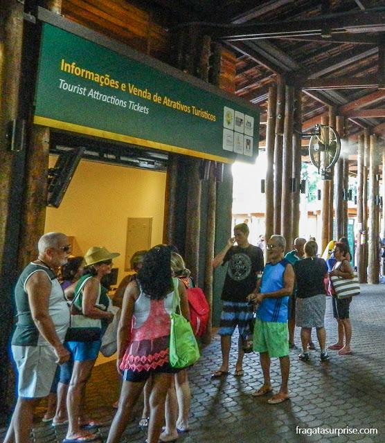 Centro de visitantes do Parque Nacional do Iguaçu