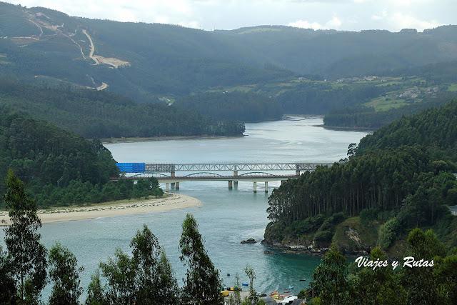 Límite de las provincias de Lugo y La Coruña