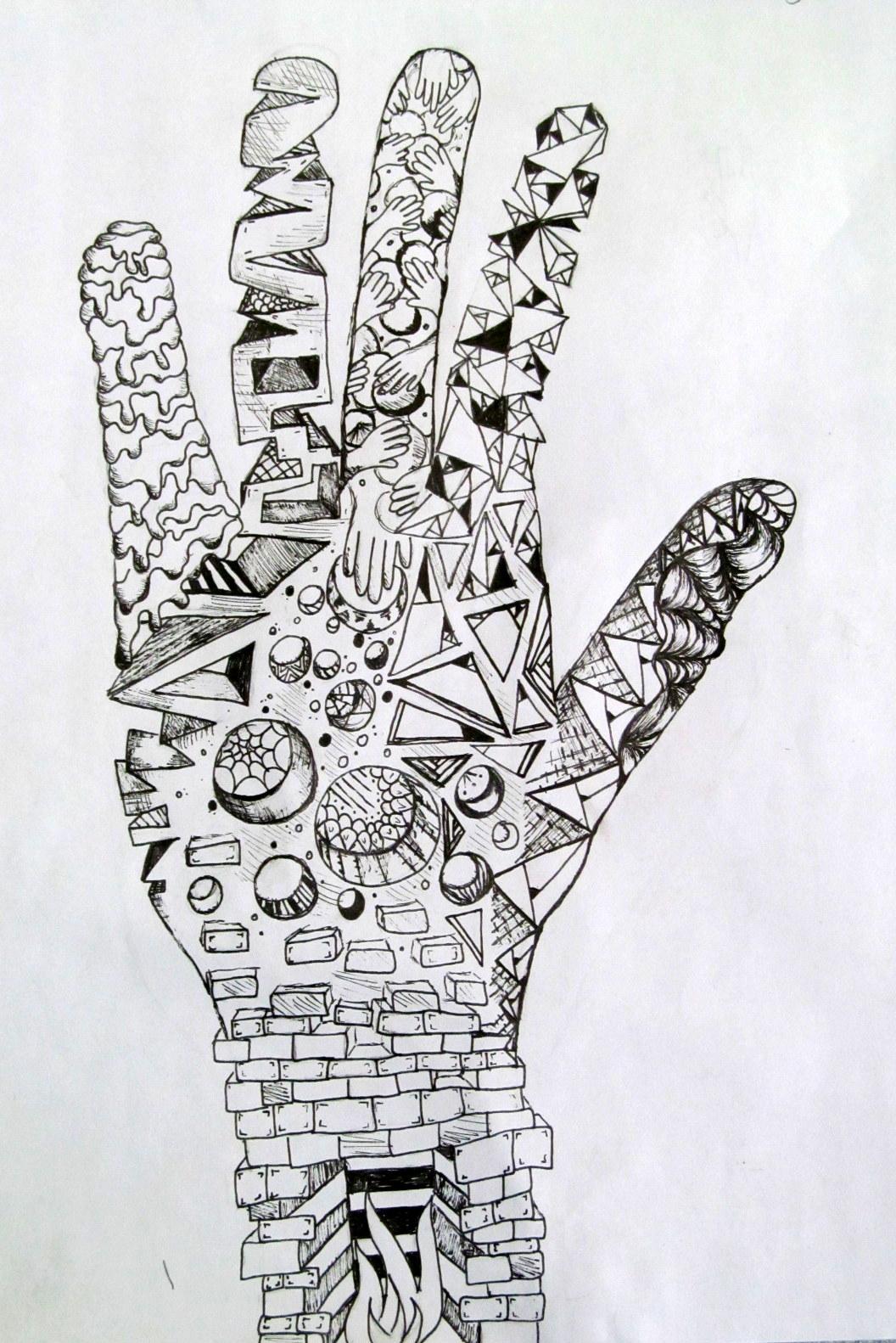Ms Eaton S Phileonia Artonian Hand Doodle Textures