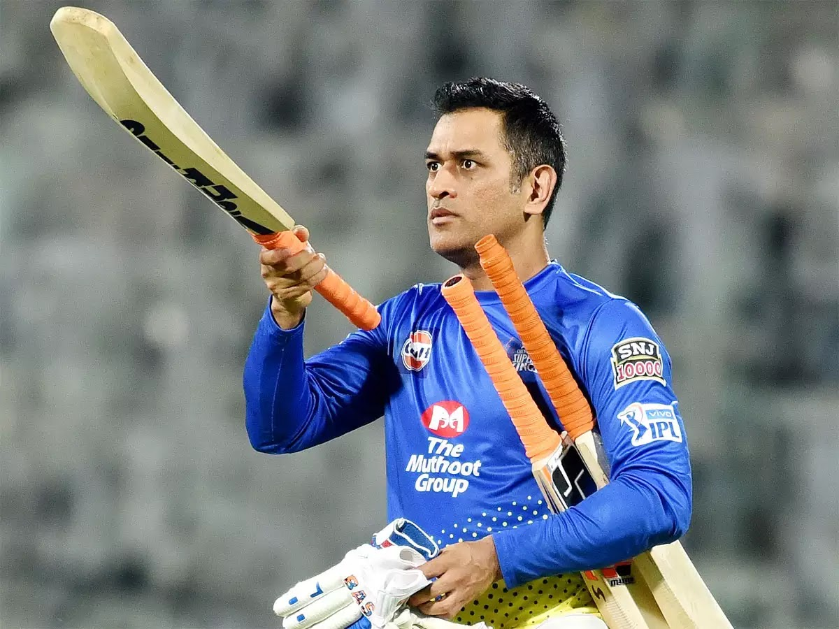 MS Dhoni might bat up the order