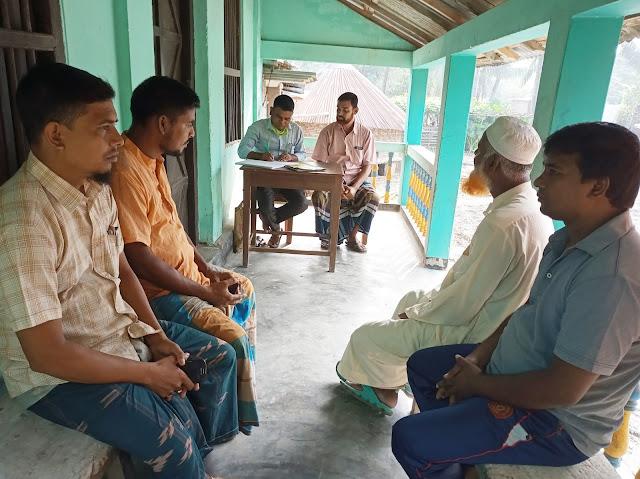 গুলবাগপুর গ্রাম সামাজিক শক্তি কমিটি গঠন
