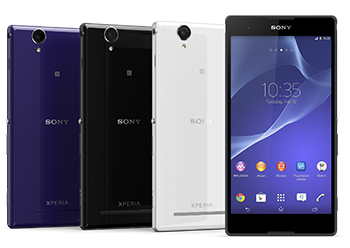 Sony Xperia T2 Ultra and Xperia T2 Ultra dual