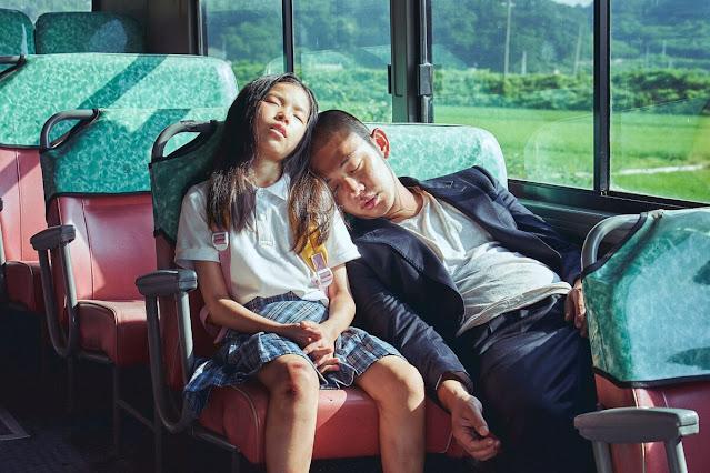Yoo Ah In Blue Dragon Film Award 2021 dalam Film Korea Voice of Silence 2020