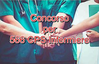 adessolavoro.com - concorso pubblico 566 posti di infermiere