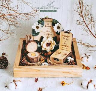 kotak seserahan kayu