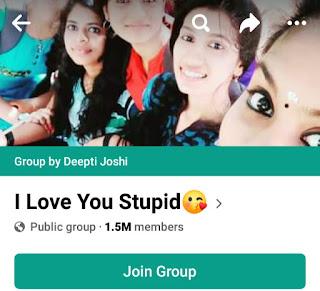 Girls Facebook group list