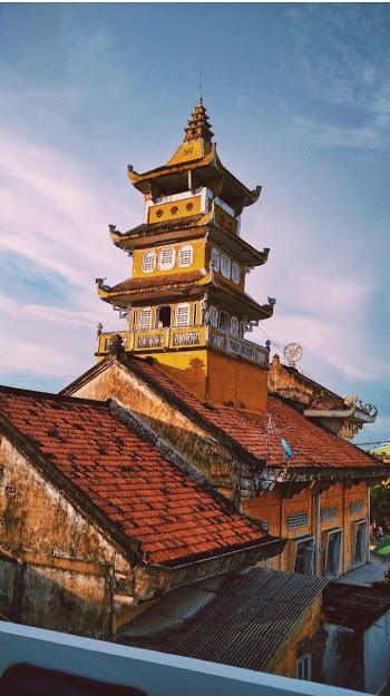 Đỉnh chùa Bửu Quang