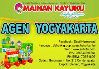 Agen Mainan Kayuku Yogyakarta