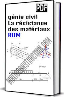 génie civil : La résistance des matériaux RDM pdf