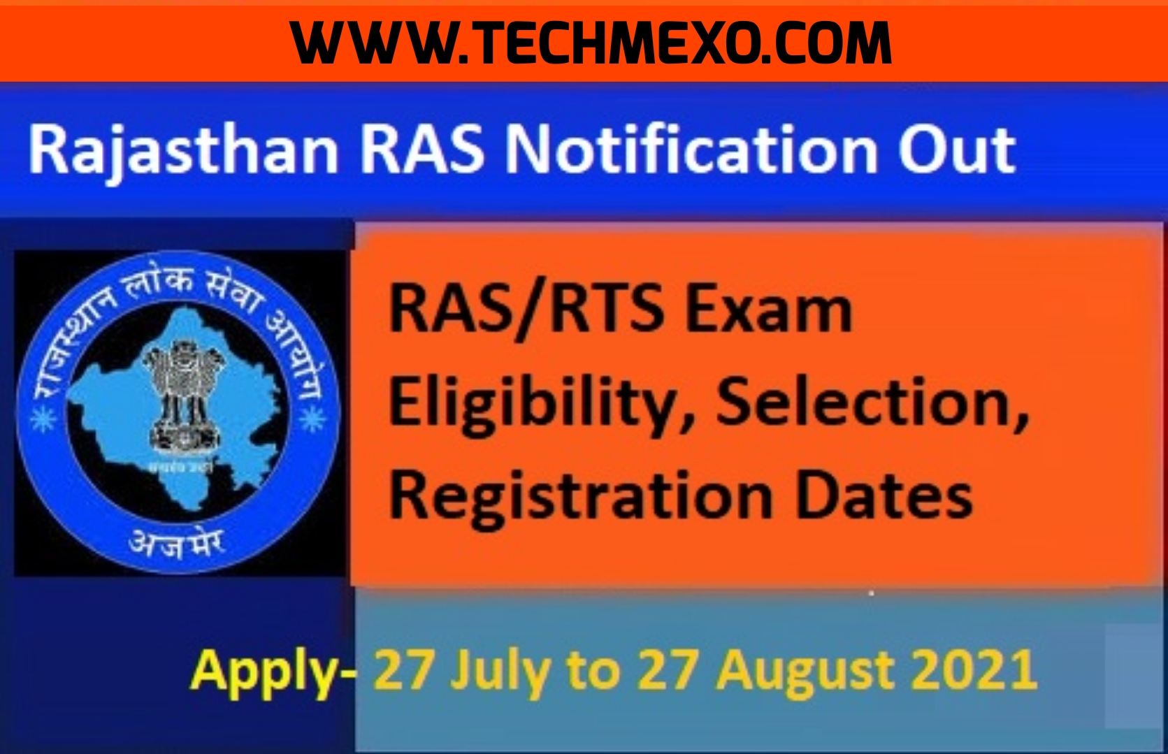 RAS / RTS 2021 Exam for 988 Job Vacancy – Check Detailed Notification