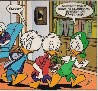 News and Views by Chris Barat: DUCKTALES Fanfic Review: