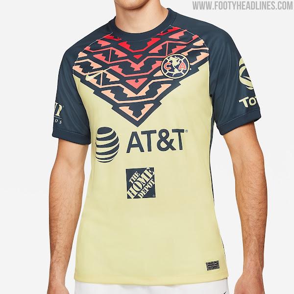 Club América 21-22 Home Kit Released - Footy Headlines