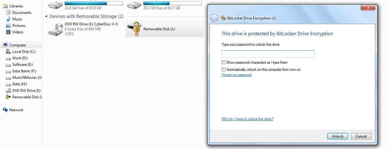 IT Tips & Hacks: Secure USB Drives with BitLocker in Windows7
