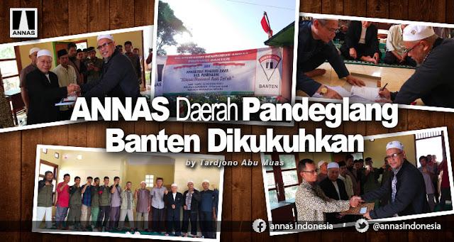 Aliansi Nasional Anti Syiah Daerah Pandeglang Banten Dikukuhkan