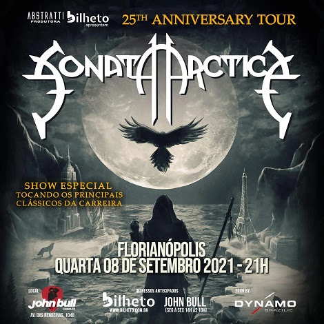 08-09-2021 - SONATA ARCTICA - Florianópolia - SC