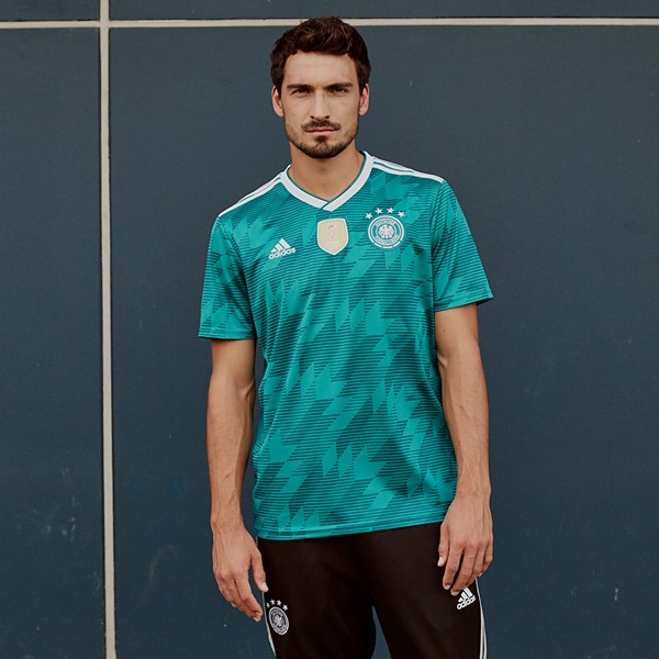 f63641550 The Adidas Germany Futsal 2018-2019 jerseys are not available to buy. The  away kit is been raffled by the DFB (German Football Federation).