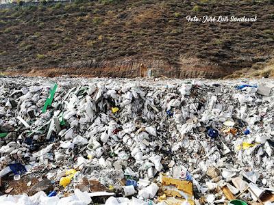 Vertedero ilegal de El Lasso, Las palmas de Gran Canaria Fotos Jose Luis Sandoval el eco de canarias