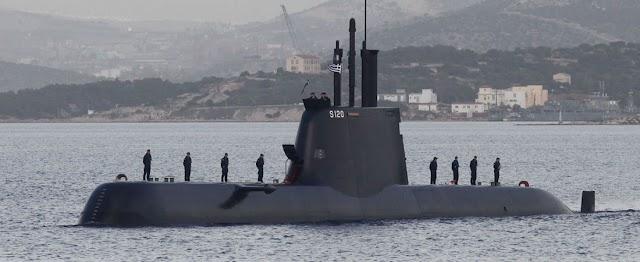 Ακόμα και σε νατοϊκή άσκηση το υποβρύχιο «Παπανικολής» φοβίζει τους Τούρκους