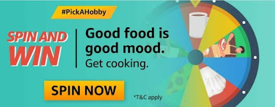 Amazon Pick A Hobby Cooking Week Quiz