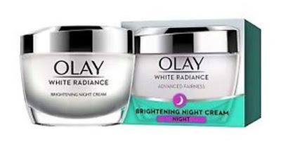 OLAY White Radiance Light Perfecting Night Cream.