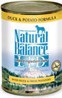 Picture of Natural Balance L.I.D. Limited Ingredient Diets Duck & Potato Canned Dog Food