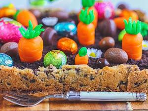 Gâteau potager de Pâques au chocolat