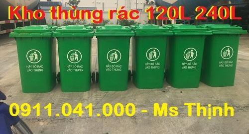Cung cấp sỉ lẻ thùng rác công cộng 120l 240l sll lh 0911.041.000