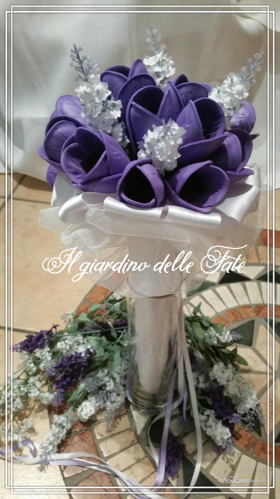 Matrimonio In Viola : Il giardino delle fate creazioni matrimonio in viola