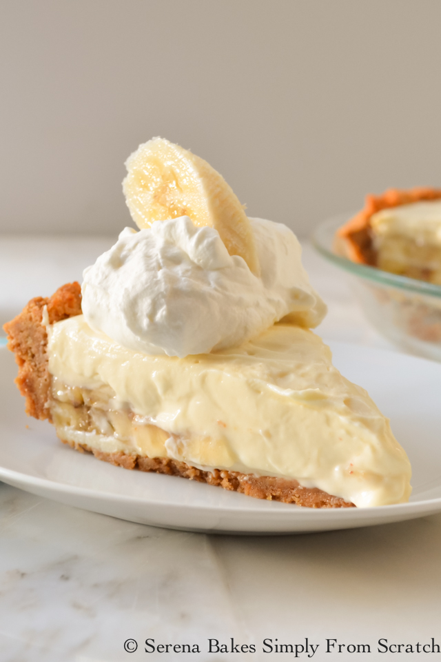 Top 10 Recipes of 2016 Banana Pudding Cheesecake. serenabakessimplyfromscratch.com