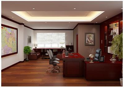Tư vấn thiết kế nội thất phòng giám đốc cao cấp
