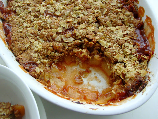 Gluten Free Apple Crumble