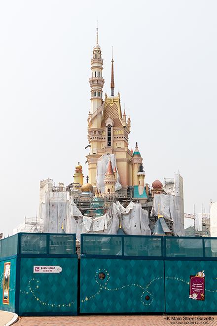 [Hong Kong Disneyland] Castle of Magical Dreams (2020) - Page 10 HKMSG_Hong_Kong_Disneyland_Castle_of_Magical_Dreams_Transformation_Construction_190928_18