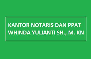 KANTOR NOTARIS DAN PPAT WHINDA YULIANTI SH., M. KN