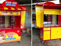 Gerobak unik - Jasa pembuatan Gerobak -Gerobak kebab unik Rp 5.900.000 -Gerobak makanan unik