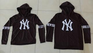 Jual Online Jumper New York Brown Murah Jakarta Bahan Babytery Terbaru.