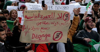 Étudiants algériens contre Bouteflika et le régime