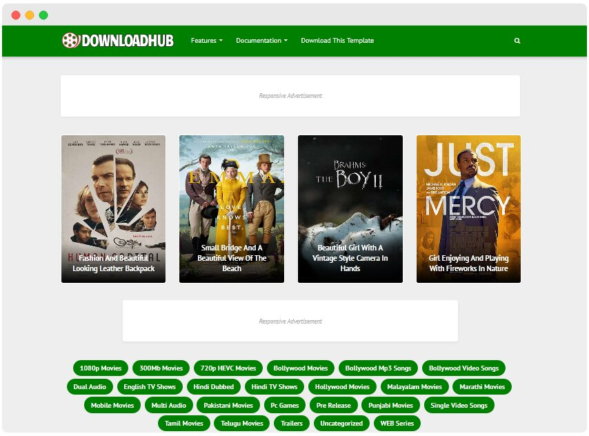 Download Hub Blogger Template | Blogger Templates 2020
