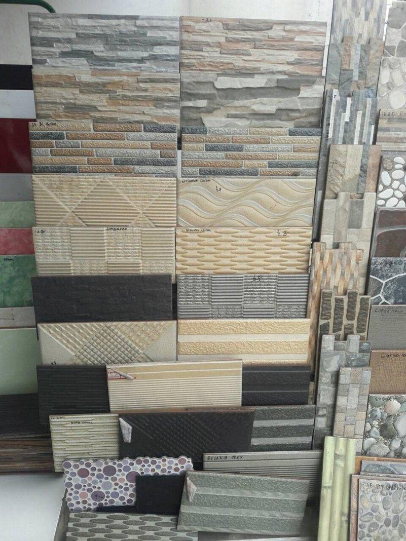 Model Keramik Dinding Teras Depan  Sobat Interior Rumah