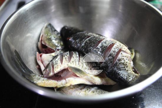 Resep Ikan Mas Tombur JTT