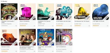 Kostenloser Hörbuch Stream für Kids | Audible gibt ausgewählte Hörbücher frei