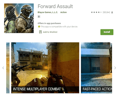 game forward assault android