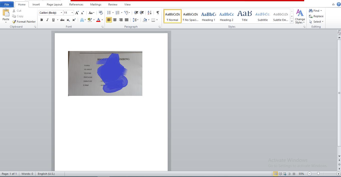 Cara Mudah Crop Gambar di Microsoft Word - pondoktekno.com