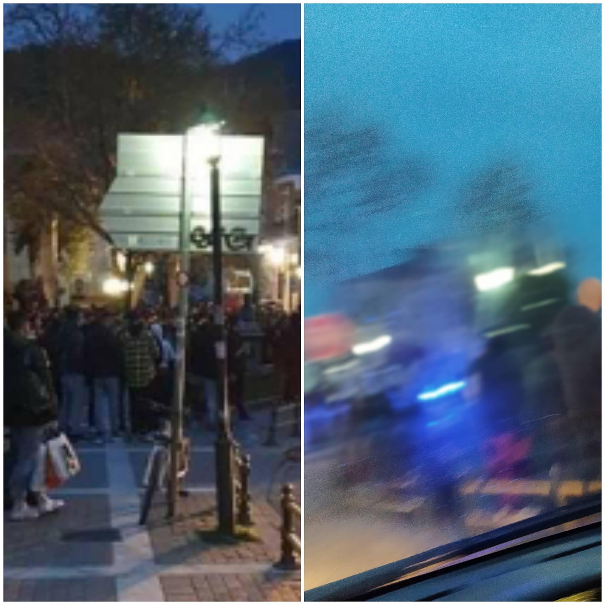 Έντονος συνωστισμός στην Πλατεία Αντίκα - Κρούσματα σε 3 Λύκεια