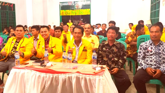 Ketua DPD ONUR Pelalawan Hadiri NATAL DPC ONUR Lalang Kabung
