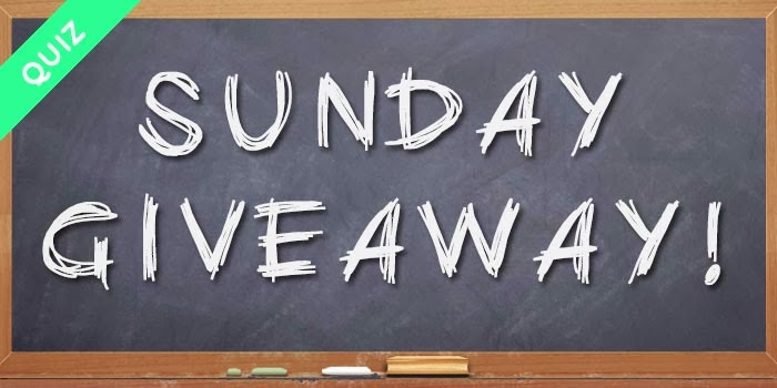 SUNDAY GIVEAWAY!!! #1