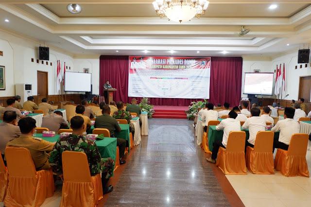 Kodim Karanganyar - Deklarasi Damai Pilkades Kabupaten Karanganyar