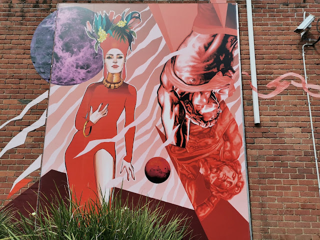 Street art in Werribee by LucyLucy and Elizabeth Dalton Hooker