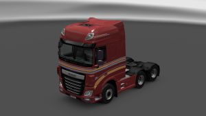 Wiersma Logistics Skin for DAF Euro 6