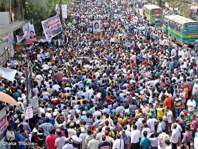 Serikat Pekerja Industri Garmen di Bangladesh Tolak Kenaikan Upah
