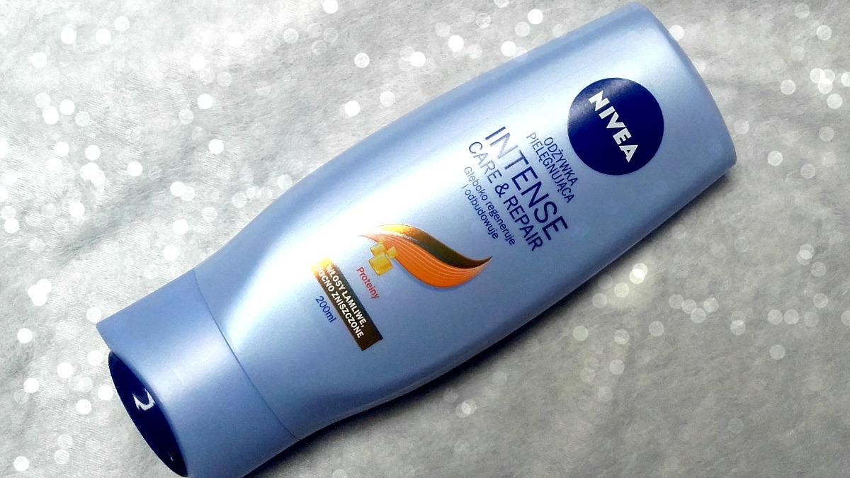 Nivea, Repair & Targeted Care, Odżywka regenerująca do włosów suchych i łamliwych